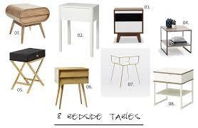 Height Of Bedside Table 8 Bedside Tables You Might Like