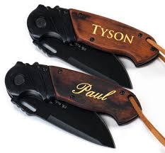 groomsmen knives custom engraved knife personalized pocket knife