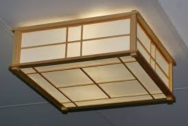 Japanese Ceiling Light Fancy Japanese Ceiling Light Keep Your Ceiling Traditional With