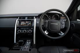 land rover hse interior 2017 land rover discovery sd4 hse review video performancedrive