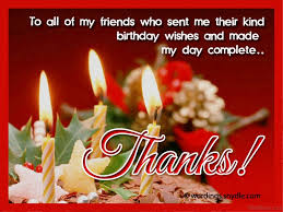 wishes for thanksgiving for friends 43 thank you for the birthday wishes