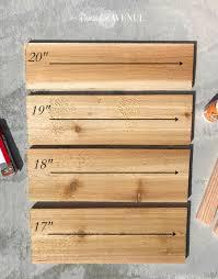 Modern Wood Planter by 15 Modern Cedar Planter Remington Avenue