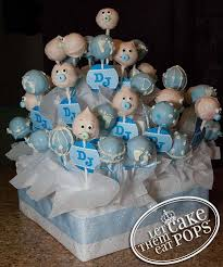 cake pop display for baby shower baby shower diy