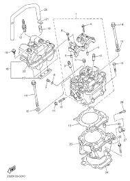 2008 yamaha yz450f yz450fxl cylinder parts best oem cylinder