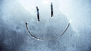 smiley face on a frozen window mac wallpaper download free mac