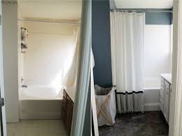 Painting A Bathroom Vanity Before And After by Before And After Master Bathroom Chris Loves Julia