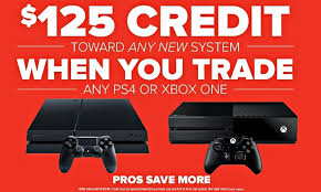 gamestop is offering a brand new playstation 4 slim xbox one s for
