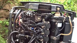 1984 mercury 60 hp outboard starter igjen etter 3 år i dvale
