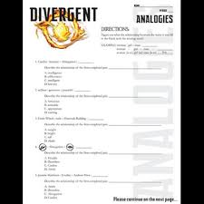 divergent analogies powerpoint u0026 activity by created for learning