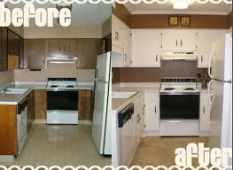 remodel small kitchen before and after best 20 small kitchen
