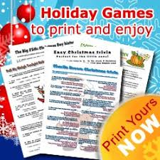 christmas games list holiday party game ideas