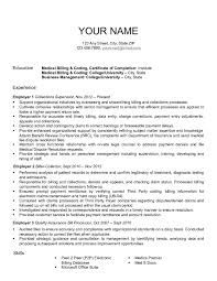 Medical Billing Resume Examples by Medical Billing Resumes Free Resume Example And Writing Download