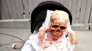 halloween prop skeleton baby youtube