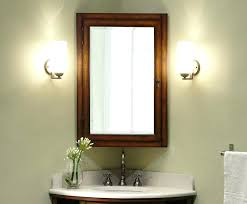 Wood Bathroom Medicine Cabinets With Mirrors Bathroom Cabinet Mirrors Marvellous Mirrored Bathroom Cabinet