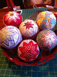 patchwork balls by little laurie craft hill fabric artisans