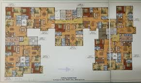 Mandir Floor Plan by 1687 Sqft Residential Apartment Available At Siliguri Iskcon