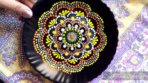 home decor plates painting mandala on plate make decorative plate for your wall