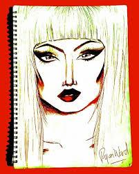 makeup artist sketchbook popart instagram tag instapuk