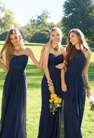 navy bridesmaid dresses illusion halter dress navy and wedding