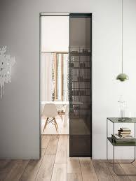bathroom sliding glass door white wooden sink cabinet iron cast