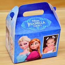personalized favor boxes disney frozen themed personalized favor boxes gift boxes
