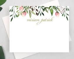 custom notecards custom notecards etsy
