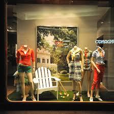 gant window displays budapest retail design