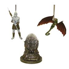 of thrones 4 1 4 inch figural ornament set