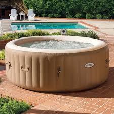 amazon com intex 77in purespa portable bubble massage spa set
