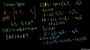 introduction to the null space of a matrix video khan academy