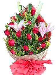 stargazer bouquet 24 roses stargazer bouquet flower delivery philippines