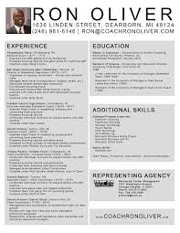 Performance Resume Template College Athlete Resume Resume For Your Job Application
