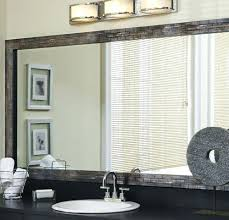 Stick On Bathroom Mirror Adhesive Frame For Bathroom Mirror Bathroom Mirror Ideas