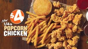 popeyes unveils new 4 popcorn chicken deal brand