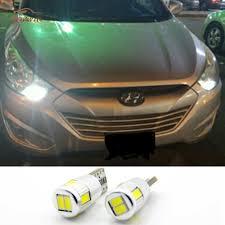 2 x led w5w t10 car light clearance lights for hyundai i30 ix35