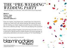 bloomingdale bridal gift registry join us bloomingdales sherman oaks bridal registry pre wedding