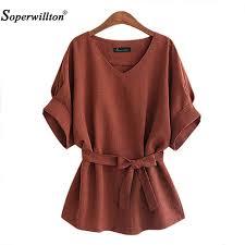 brown blouse 2017 kimono summer blouse big large plus size 5xl brown