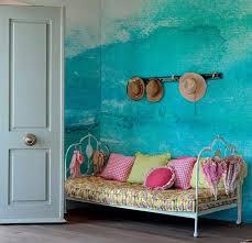 schlafzimmer wie streichen wand streichen in farbpalette der wandfarbe blau freshouse