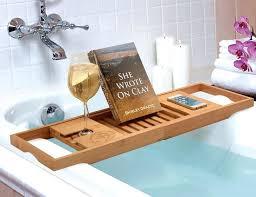 bathtub caddy oil rubbed bronze bathtub bathtub tray caddy luxury bamboo bathtub caddy tray tub