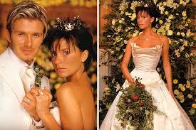 beckham wedding dress what does a 100 000 wedding dress look like easy weddings