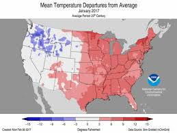 Climate Map Of Usa by Assessing The U S Climate In January 2017 National Centers For