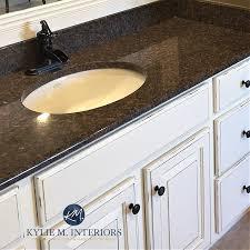 kitchen backsplash ideas for black granite countertops how to update your granite countertops m interiors