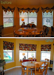 Mock Roman Shade Valance - i should be mopping the floor no sew faux roman shades