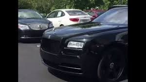 roll royce wraith rick ross gervonta tank davis the next superstar boxer in his rolls royce