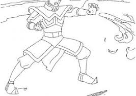avatar airbender coloring pages coloring4free