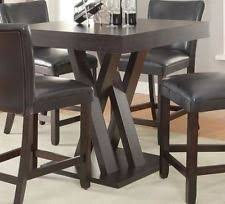 Square Bar Table Pub Height Table Ebay