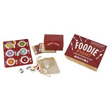 foodie fight game trivia board game uncommongoods
