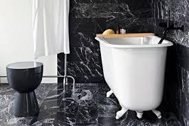 black marble flooring black marble in the bathroom tile baths fixtures floors