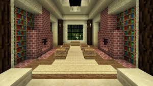 Minecraft How To Make A Furniture by Minecraft How To Build A Library Youtube