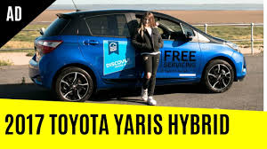 toyota yaris hybrid 2017 overview youtube